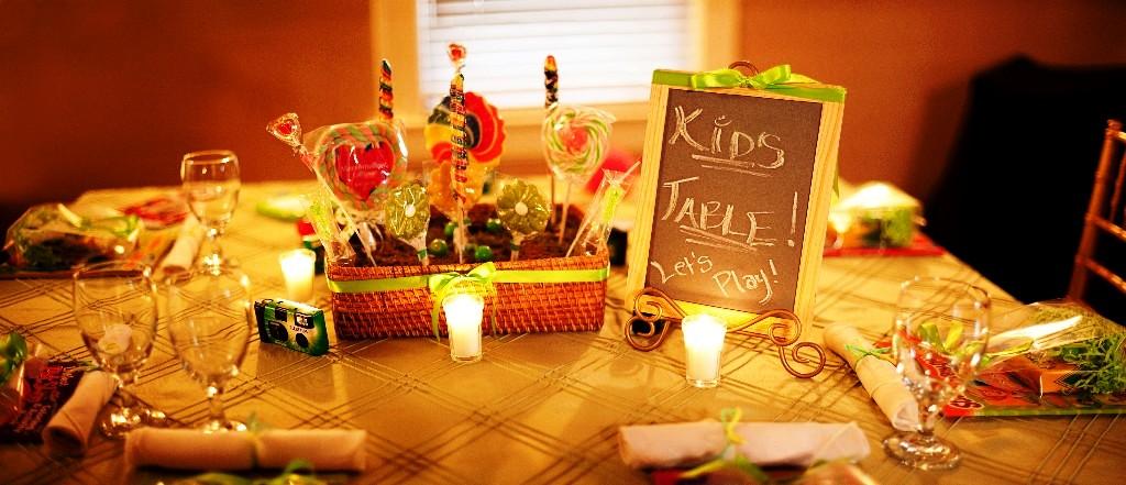 Kids Wedding Table Ideas Photograph Kid We