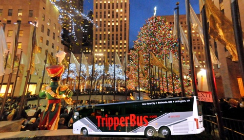 dc to nyc for rockefeller tree lighting