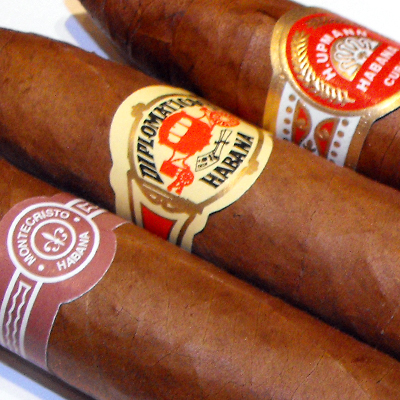 Grooms Room, cigars