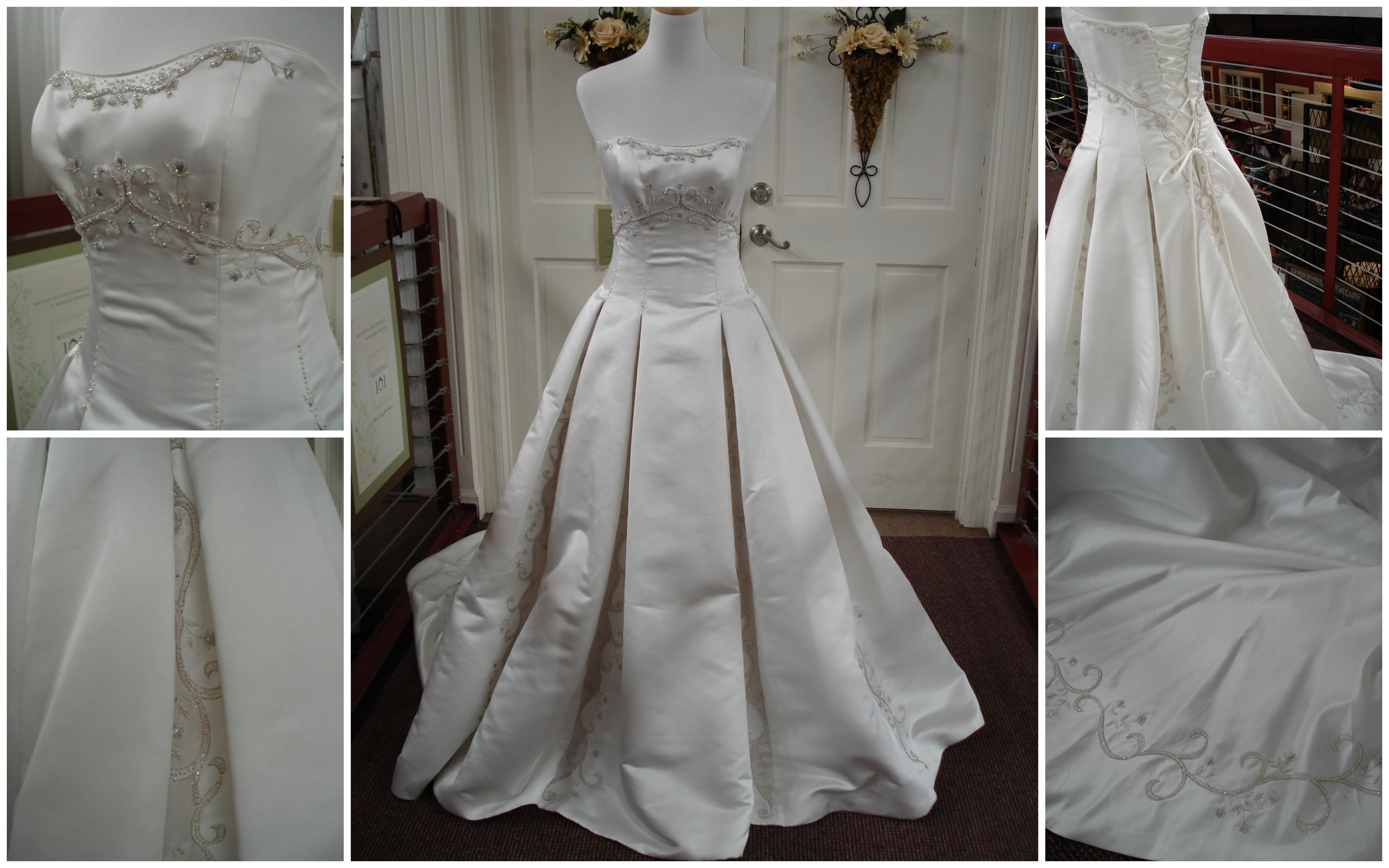 Simple Wedding Dresses For Justice Of The Peace: Wedding 101 Bridal Expo And Silent Auction: Gown Sneak