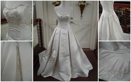 Wedding 101, wedding dress, The Fairy Godmother Project