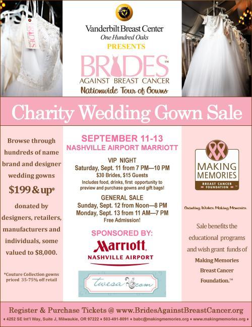 Nashville Brides Against Breast Cancer