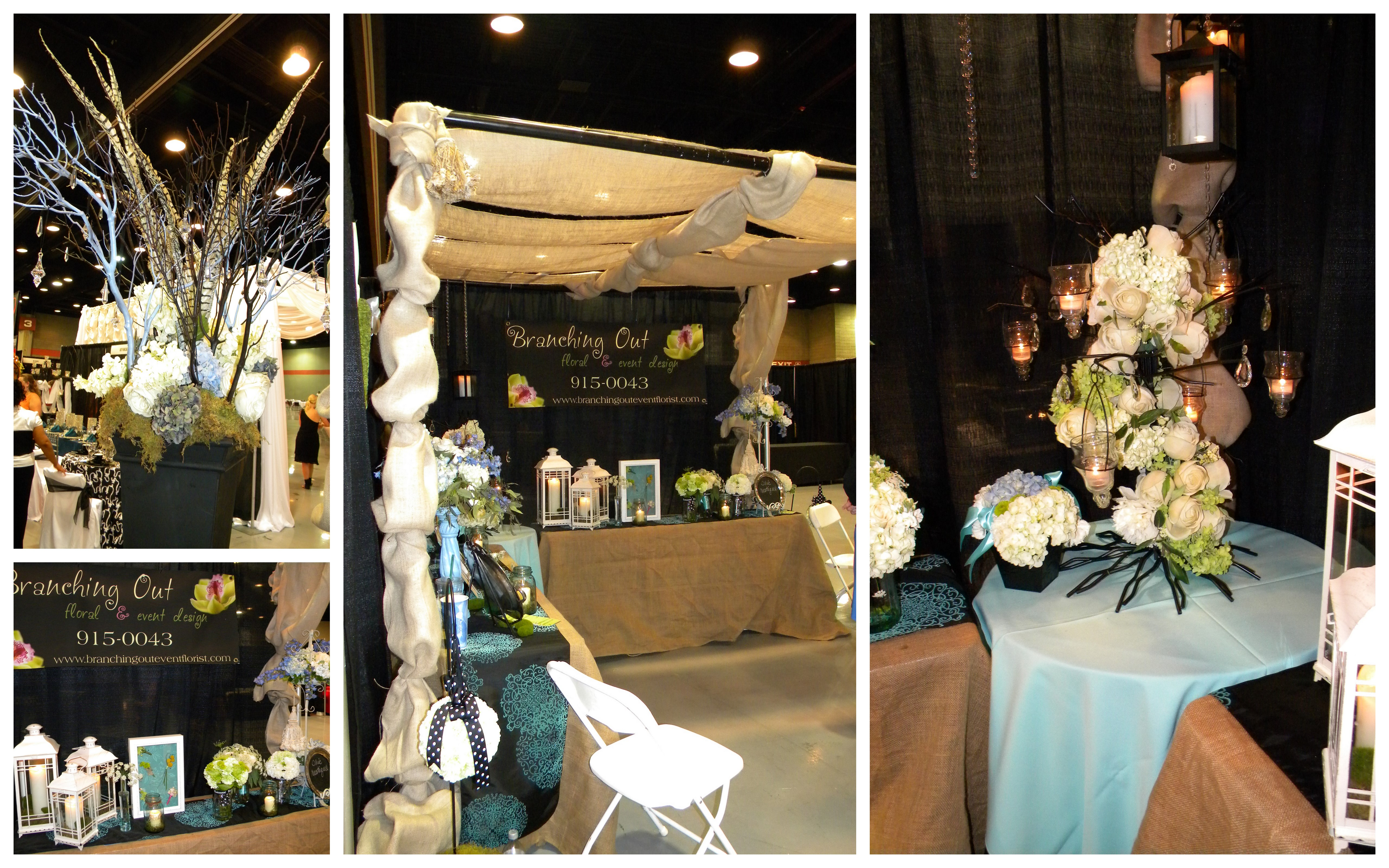weddings bridal event booth rustic burlap nashville recap amazing feel decor branching rented vicki canopy incorporated had most