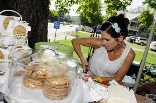 cookie crumb haven, nashville wedding vendor, nashville ice cream, nashville cookies