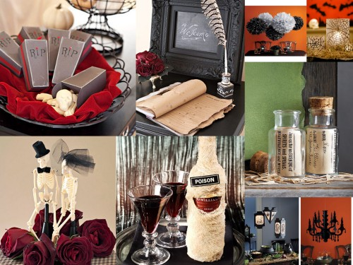 Halloween, Inspiration, Wedding