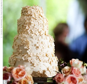 White Wedding Cake, Garden