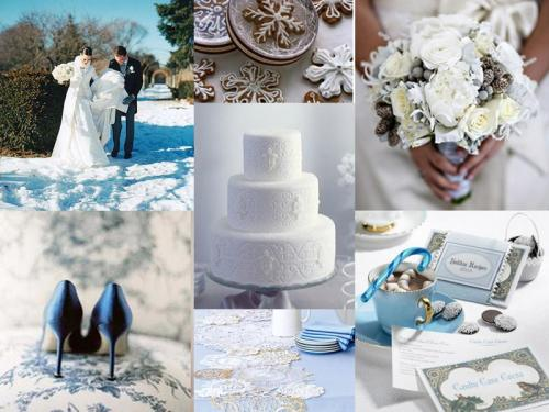 Winter wedding, blue, silver, gray, grey, Wedding 101, Winter Wedding